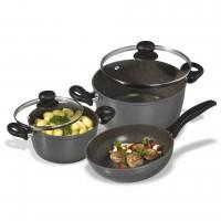 Комплект кухненски съдове за готвене от 5 части