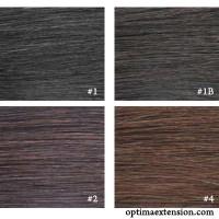 Естествена коса за удължаване 5 stars REMY -цвят 1