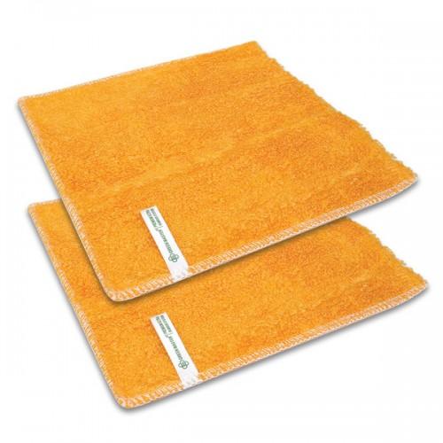 2 броя Бамбукова кърпа за съдове Bamboo Dish Premium