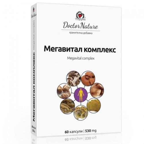 Мегавитал комплекс (Megavital complex), 60 капсули х 530 мг