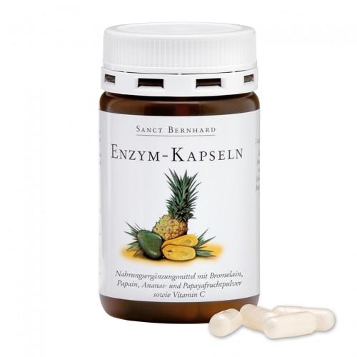 Храносмилателни ензими с витамин С, 90 капсули