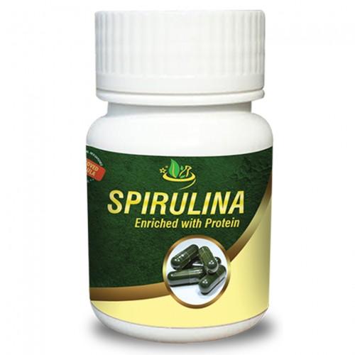 Спирулина (Spirulina), 40 капсули