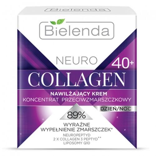 NEURO COLLAGEN Овлажняващ крем-концентрат за лице ден & нощ 40+, 50 мл