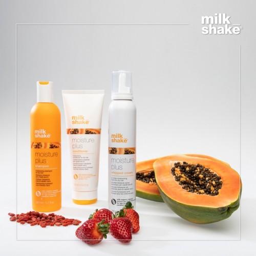 Хидратиращ комплект за суха  коса  с папая-MILK SHAKE