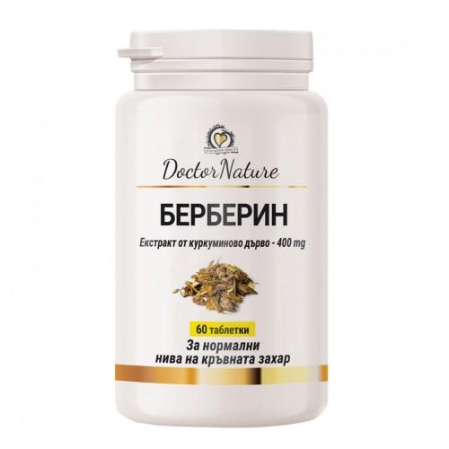 Dr.Nature Берберин - 60 таблетки
