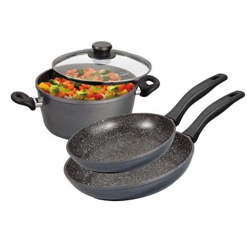 Stoneline- Комплект кухненски съдове от 4 части