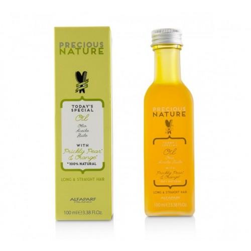 Дълбоко подхранващо олио за дълги коси с екстракт от индийска смокиня и портокал