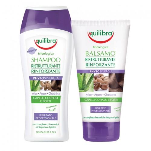 Реструктуриращ комплект за коса Tricologica - 2 продукта-Equilibra